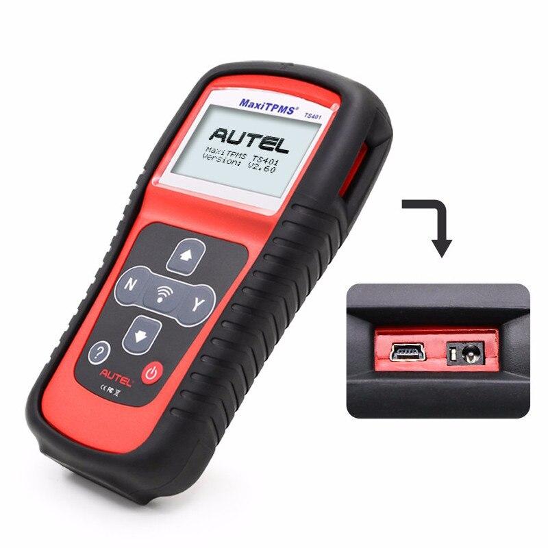 Image 5 - Autel MaxiTPMS TS401 инструмент мониторинга состояния шин OBD2 сканер активировать сканирование TPMS сенсор копия OE ID датчик Mx Программирование autel TPMS mx сенсор