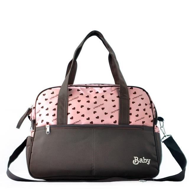 Bolsos de múltiples funciones del panal del pañal del bebé bolsas bolsas de mensajero de gran capacidad de la madre de la momia bolsa de cochecito de bebé cuidado nappy cambiar