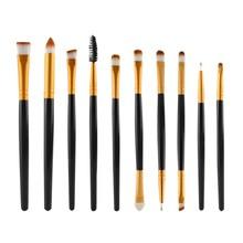 Promotion 10 Pcs Professional Maquiagem Makeup Brushes Tools Set Beauty Make Up Brushes Kit Pinceis TF