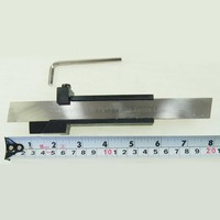 Lathe Parting Cutting Milling Tool Holder With 5 Blades 200MM Many Sizes