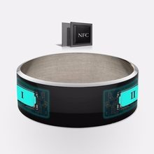 2018 Steel Waterproof/Anti-dust NFC Smart Ring For Android SmartPhone Wear Magic Finger Ring Wear Magic RFID Card Ring PK R3 R3F(China)