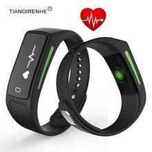 2017 новые V6 монитор сердечного ритма Смарт часы браслет калорий браслет Фитнес Спорт активность трекер группа для IOS Android