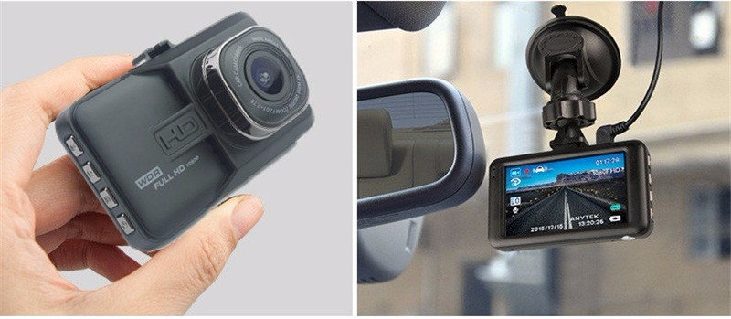 17 Registrar Car Camera DVR 1080P HD 1 Degree Dvr Black Box Car Mirror Camera Dual Camera Lens With Rear View Camera Dashcam 17