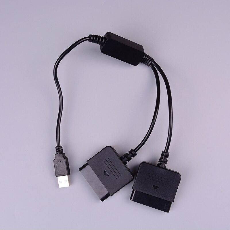 1 Stück Spiel Kabel Für Ps1 Ps2 Zu Pc Usb 2.0 Controller Adapter Konverter Für Ps2 Wired Controller Für Sony Playstation2 Seien Sie Im Design Neu