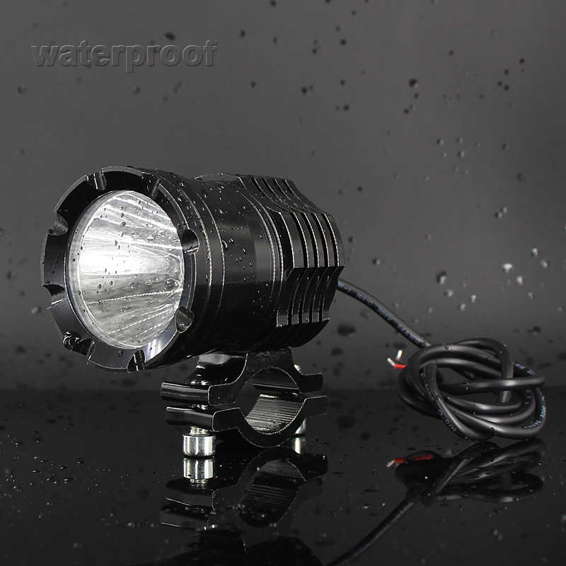 LED Motorcycle bicycle Headlight fog lights bulb DRL lamp 12V 30W External Highlight Auxiliary driving lamp LED Motorbike 6000k