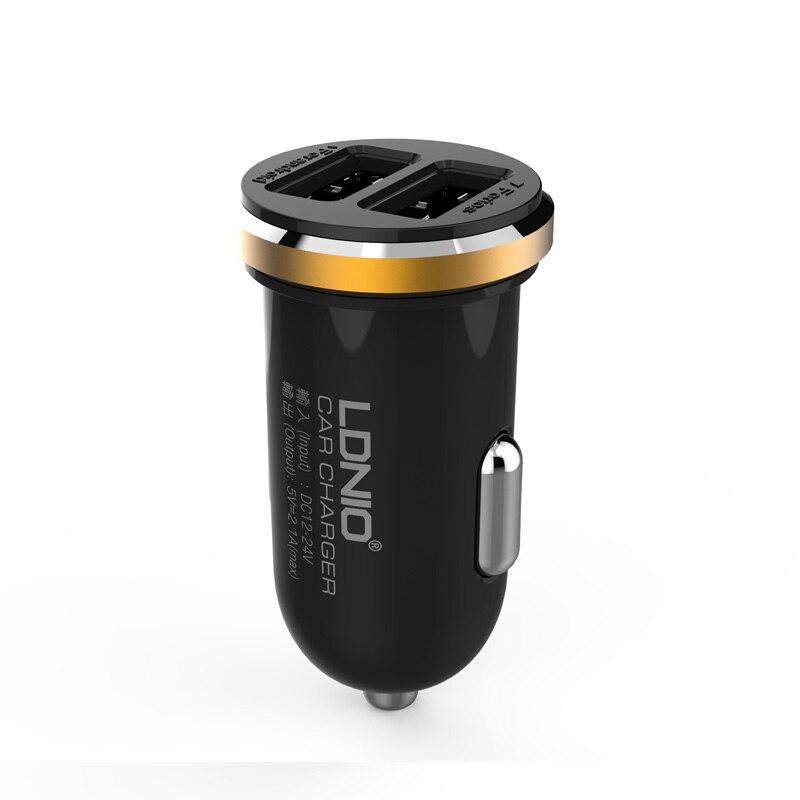 Ldnio 2 USB Port 5V 2A Mini font b Car b font font b Charger b