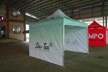Настраиваемыми сени рамки, логотипа, реклама всплывающие рекламные верхней палатки палатка три
