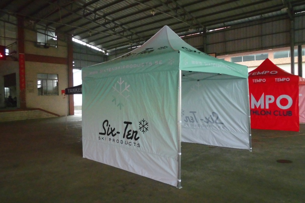 Promotional pop up tent with customized logo advertising tent without frame one top canopy -in Gazebos from Home u0026 Garden on Aliexpress.com | Alibaba ... & Promotional pop up tent with customized logo advertising tent ...