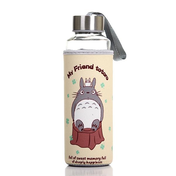 My Neighbor Totoro Glass Bottle