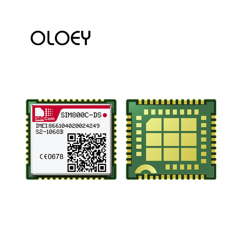 SIMCOM SIM800C-DS 2G GSM / GPRS Embedded Quad-band Module, 100% New & Original, Support Dual SIM Cards