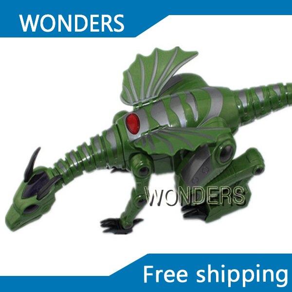 Высокое качество электронная игрушка высокая производительность динозавров игрушки, Звучание и мигающий бесплатная доставка