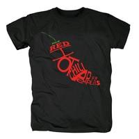 Free shipping RED HOT CHILI PEPPERS LOGO ALTERNATIVE RHCP NEW WHITE BLACK BASEBALL T SHIRT