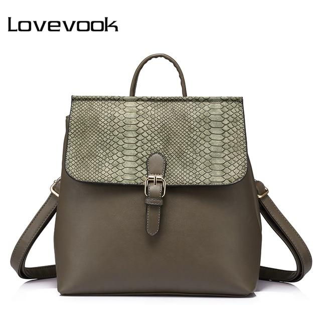 LOVEVOOK backpack women hand bag female mini backpack anti theft schoolbag ladies  shoulder bag school back pack small tote 2018 43525b2074
