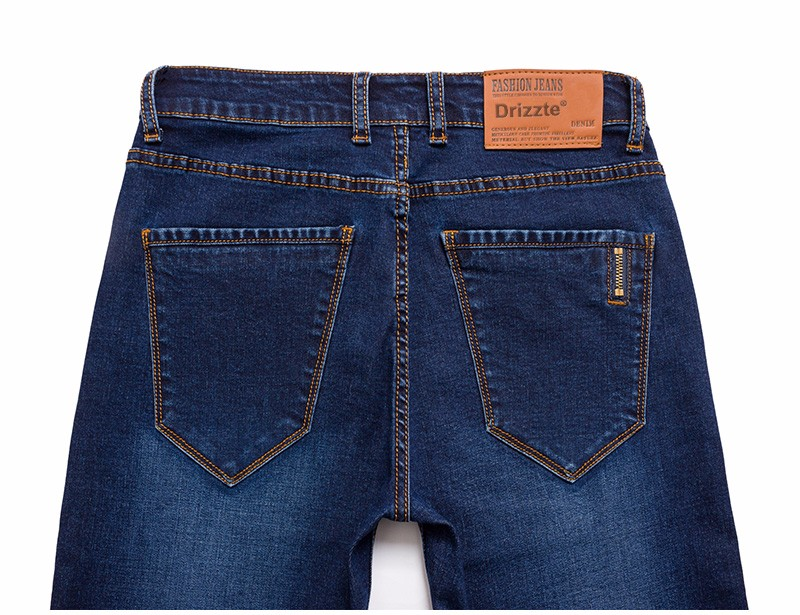 Drizzte Brand New Fashion Mens Jeans Slim Stretch Pants Thin Denim Trousers Size 35 36 38 40 42 Lightweight Jeans for Men 12