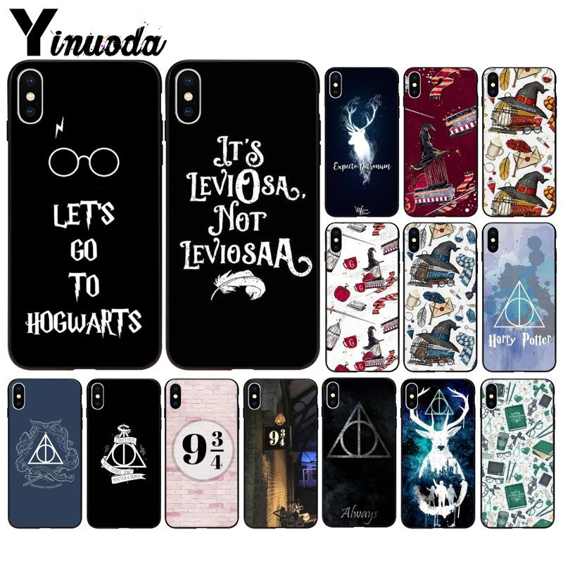 1e6ab4564b Yinuoda Harry Potter DIY Luxury High-end Protector Case for iPhone 8 7 6 6S  Plus 5 5S SE XR X XS MAX Coque Shell
