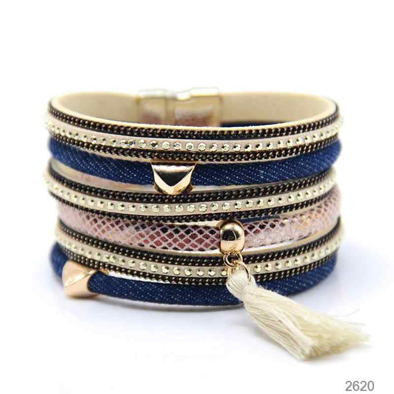 ZG Best Selling New Jeans Style Bracelet Heart Tassel Fashion Magnetic Bracelet High Quality Jewelry