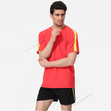 Adsmoney Polyester Soccer Jerseys Form Maillot De Foot Training Tracksuit Breathable Anti-friction Team Sportwear For Man