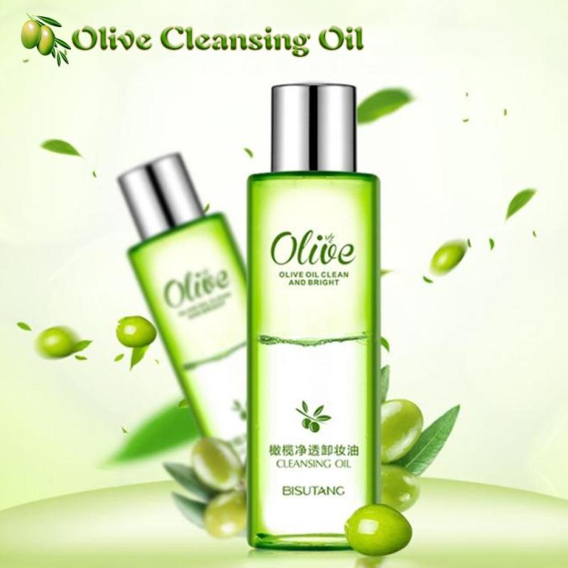 1pc Remover Clean Oil olives Essence Clear Moisture Eye & Lip Makeup Removing Oil Makeup Remover Gentle Natural Skin Care YE15