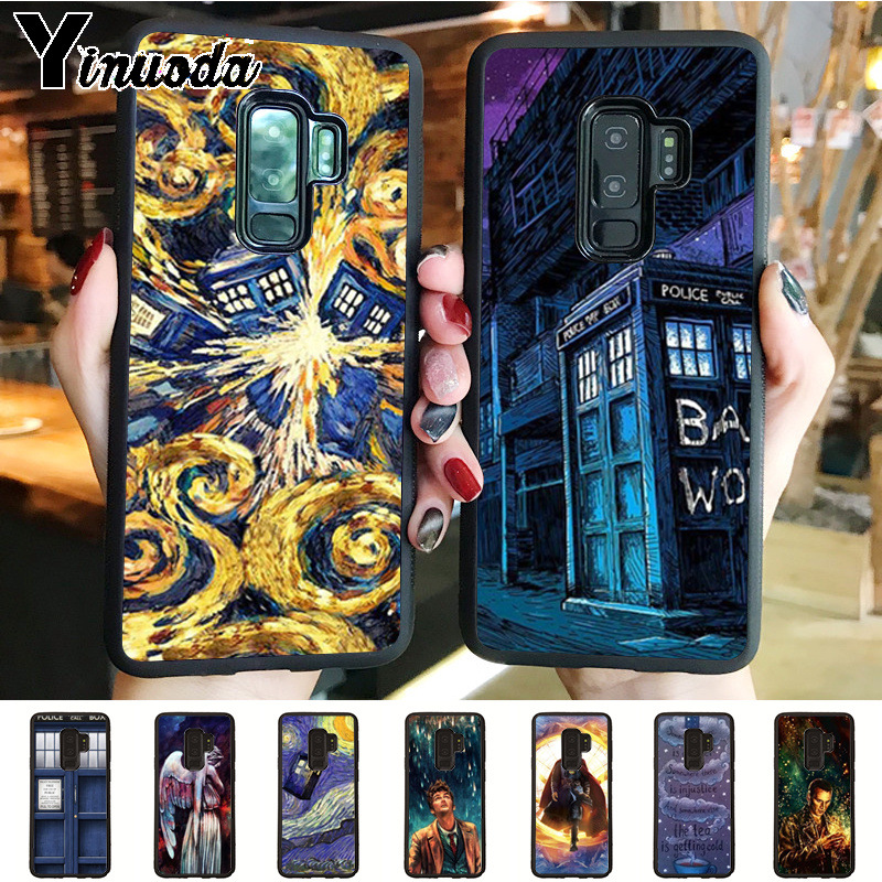 Half-wrapped Case Confident Doctor Who Tardis Box Silicone Tpu Soft Phone Cover Case For Samsung Galaxy S3 S4 S5 S6 S7 Edge S8 S9 Plus Mini Note 3 4 5 8