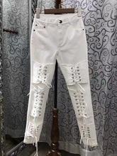 2017 Pantalones Mujer Hot Sale Pants Lulu Leggings 2017 Spring New Women s Fashion Personality Cross