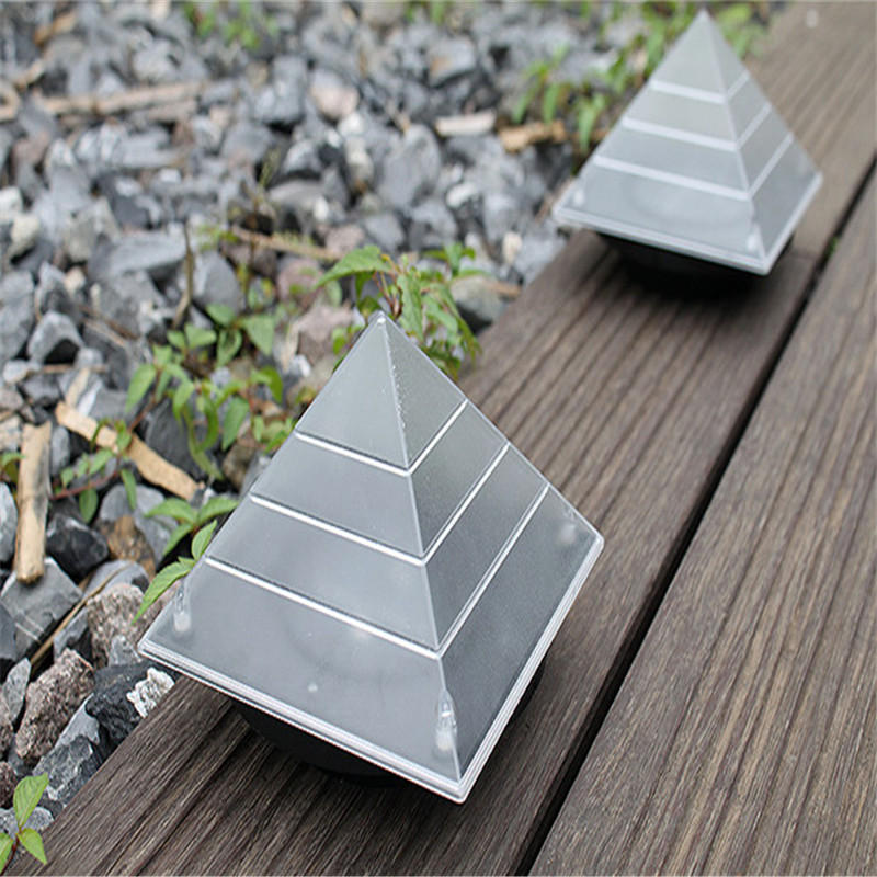 LED solar lawn light outdoor control landscape decoration waterproof energy saving family garden villas square emergency lamps