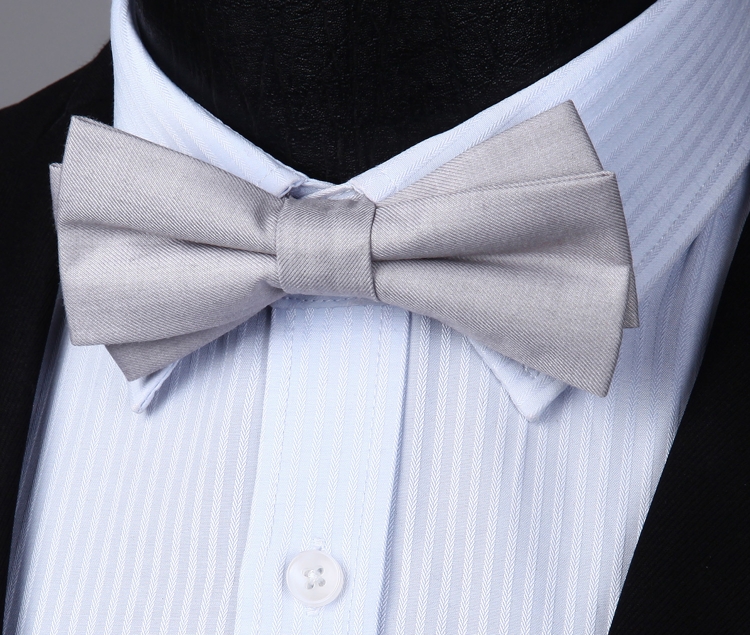 Adjustable Bowtie Men Solid 5 Fashion Style Butterfly Wedding Party Bowtie Pre-tied Bow Tie