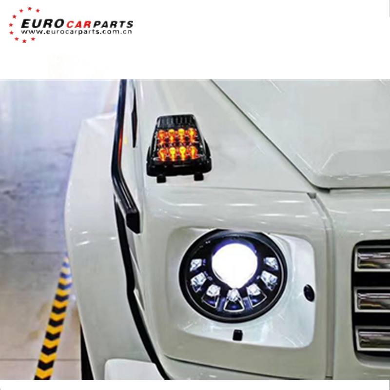 led turning light signal lamp fit for G class w463 G350 G400 G500 G55 G63 G65 bumper lights (not fit 2016 and 2017 year)