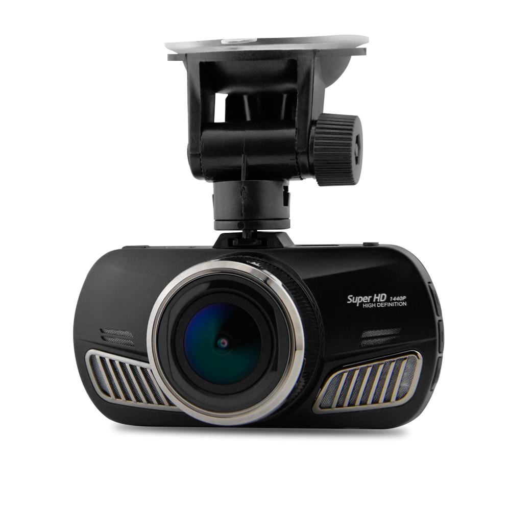 Ambarella A12 Car DVR  Camera Super HD 1440P GPS Car Camcorder 2.7 inches LCD 170 Degree View Angle Lens Night Vision Dash Cam