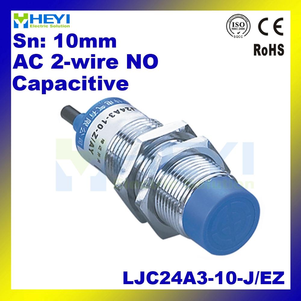 Capacitive Proximity Sensor Ljc24a3 T J Ez 2468mm 90 250vac 2 Inductive 2wire Wiring Diagram Wire No 300 400 Ma