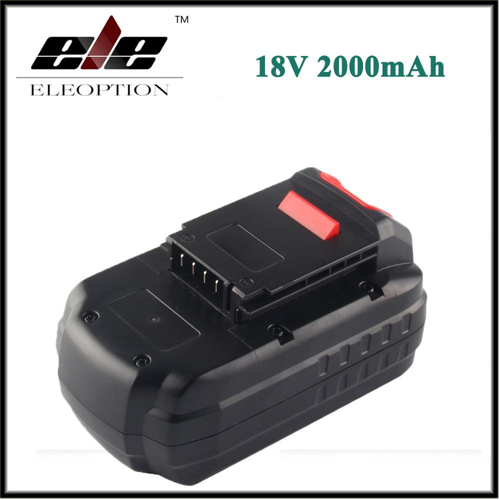 New 18V 2000mAh Ni-CD Battery for PORTER CABLE PC18B PCC489N PCMVC PCXMVC PC18BLEX PC18SS PC18JR PC18JS PC18FL PCC581B PC18DS 1 pc new 14 4v 2 0ah 2000mah ni cd battery for bosch bat038 bat140 bat159 bat040 bat041 vhk15 t10