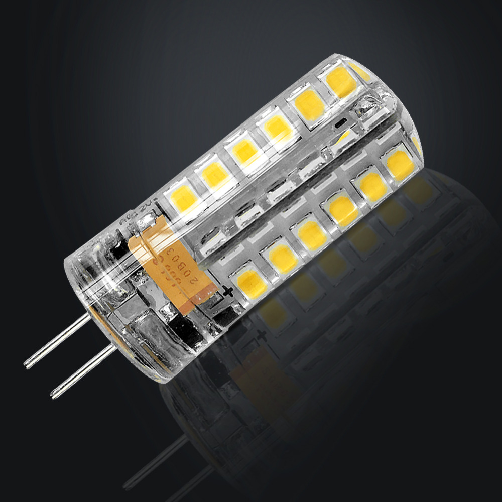 IMINOVO 10pcs G4 LED Light Bulb AC/DC 12V 220V 24 48LED Replace 10W 30W 50W Halogen Silicone SMD3014 3W 5W 9W Ceiling Lighting