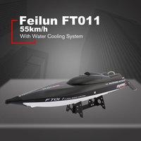 FeiLun FT011 RC лодка 2,4 г высокая скорость бесщеточный мотор Встроенная система водяного охлаждения пульт дистанционного управления гоночная ск