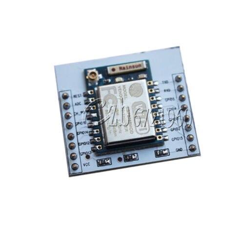 Module WIFI à Port série à distance ESP8266 + Esp8266-07 d'extension de plaque adaptateur IO
