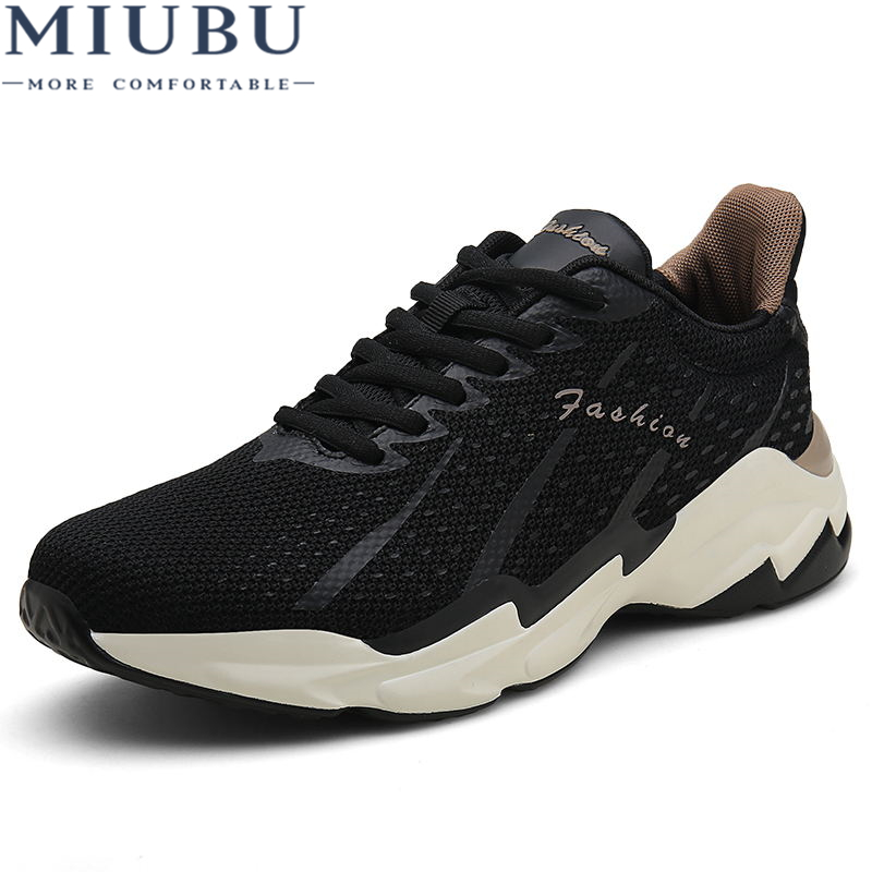 MIUBU Men Walking Shoes Summer EVA Sneakers Outdoor Breathable Fashion Shoes calzado deportivo Brand Zapatilla Mesh Sneaker in Men 39 s Casual Shoes from Shoes