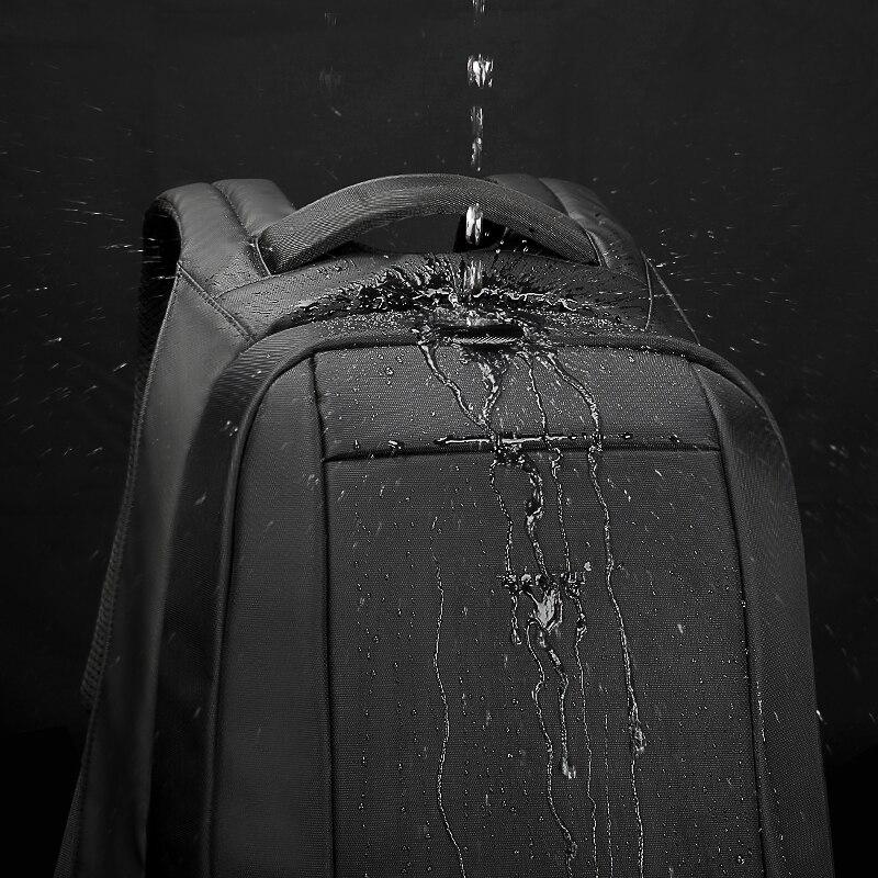 Tigernu Étanche Anti Vol Hommes Sacs À Dos de 15.6 pouces Ordinateur Portable Portable sac à dos usb pour Adolescente Femmes mochila mâle - 3