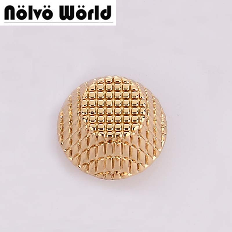 12*7mm gold silver spikes metal studs rivets screwback spots metal hardware for bags bracelets button gold metal engraved rivet 100pcs lot 6colors 12mm round spikes fashion pop rivets stud hardware w screw for bags shoes wallets belts