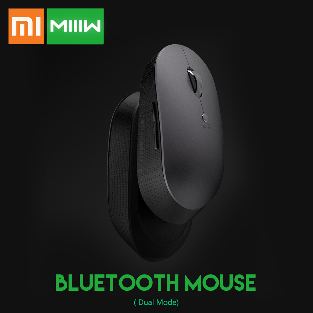 Xiaomi Mouse Bluetooth Laptop MIIIW Wireless Office 1000 S500 DPI for Dual-Mode Original
