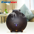 Excelvan 20006A 500ml Essential Oil Diffuser Aroma Diffuser Ultrasonic Humidifier Mist Maker Aromatherapy Air Purifier Woodgrain