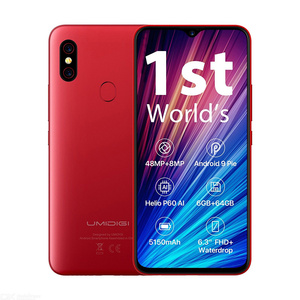 "Image 5 - UMIDIGI F1 Play 6GB RAM 64GB ROM 6.3 ""FHD Version globale Smartphone double 4G 48MP + 8MP + 16MP 5150mAh Android 9.0 téléphone portable"