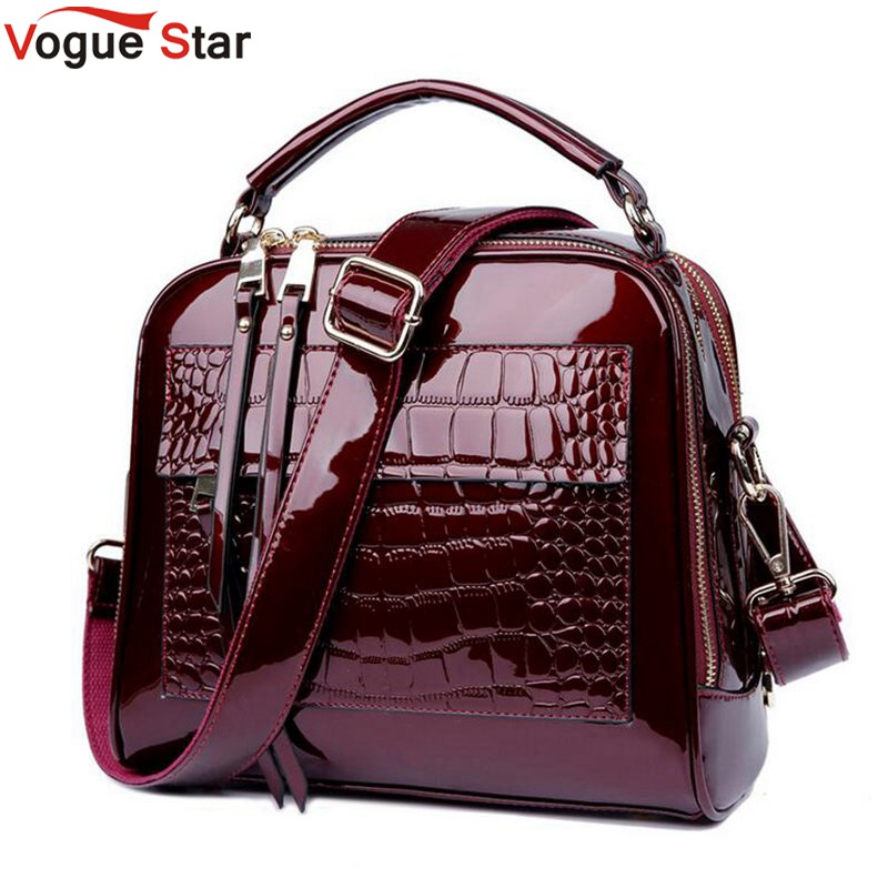 New 2017 Women Bag Fashion Messenger Bags Small Alligator Handbag Crossbody Bags for Women Leather Shoulder Bag Designer LA456