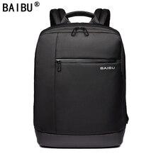 BAIBU Brand Laptop Backpack Men's Travel Bags 2018 Multifunc