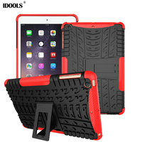 Tablet Case For Ipad Mini 3 Cover High Quality Soft TPU PC Hybrid With Stand Coque