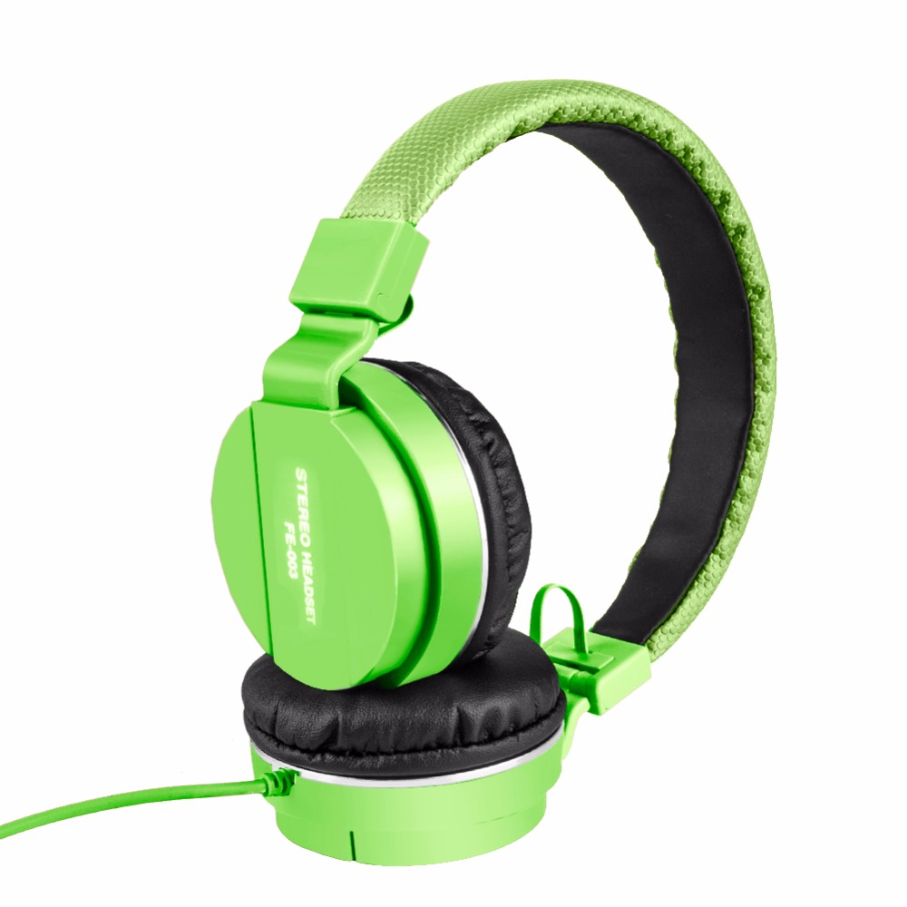 Fashion FE-003 Colorful Headset Gaming Headphone With Microphone Wired Earphone for iPhone iPad PC Smart Phones #233077 universal dmyco jm26 headphone original earphone good quality professional portable headset microphone for smart mobile phones