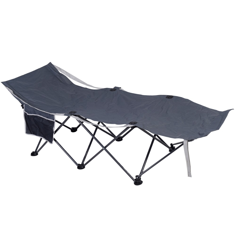 folding super light camping single bed 185cm long free