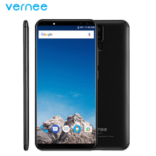 Orignal Vernee X Mobile Phone 6.0 inch Screen 6GB RAM 128GB ROM MTK6763 Octa Core Android 7.1 Four Cameras 6200mAh Smartphone