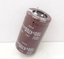Электролитический конденсатор 4700 мкФ 100 В 100 В 4700 мкФ 4700 мкФ 100 В объем 30*50 мм