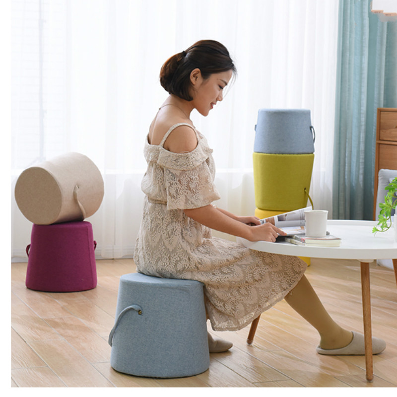 fashion home kids adult coffee table stool small bench furniture saddle stools vanity chair