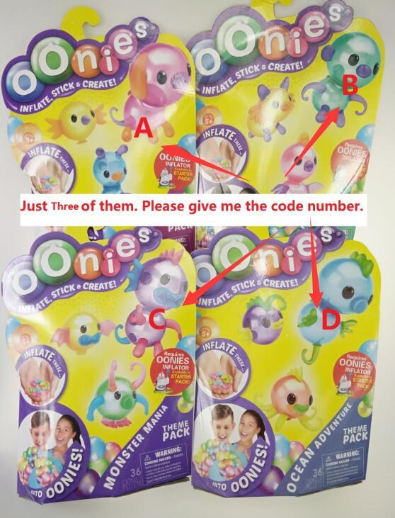 oonies top quality balloon magic adhesive music wave children handmade DIY creative sticky Onies onoies toys Russian warehouse