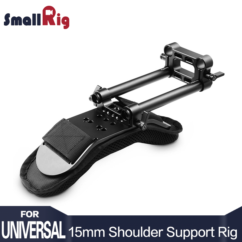 SmallRig Shoulder Pad Soft Decompression Steady Shoulder Mount for Dslr Camera Video Camcorder DV/DC Support System Dslr Rig1512 premium dslr rig movie flim kit shoulder mount support pad holder photo studio accessories for canon nikon video camcorder dv