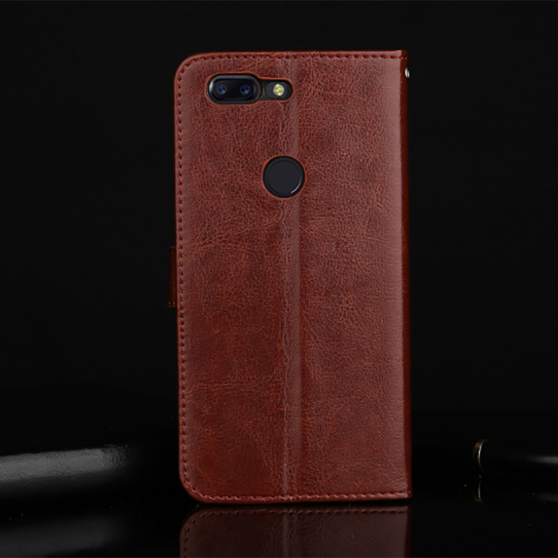 Newest Phone case For Oneplus 5 T Luxury Flip Wallet Retro Leather Cases For Oneplus 5T Cover Stand Function Card Holder